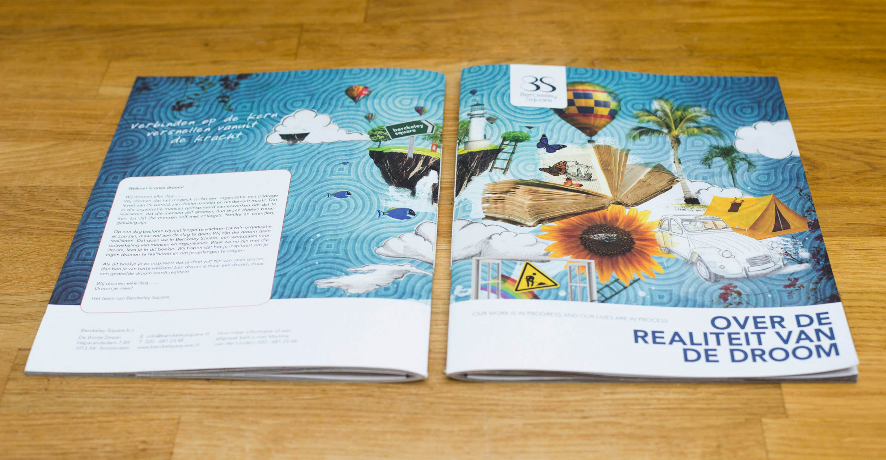 Brochure Berckeley Square 'werk in uitvoering'