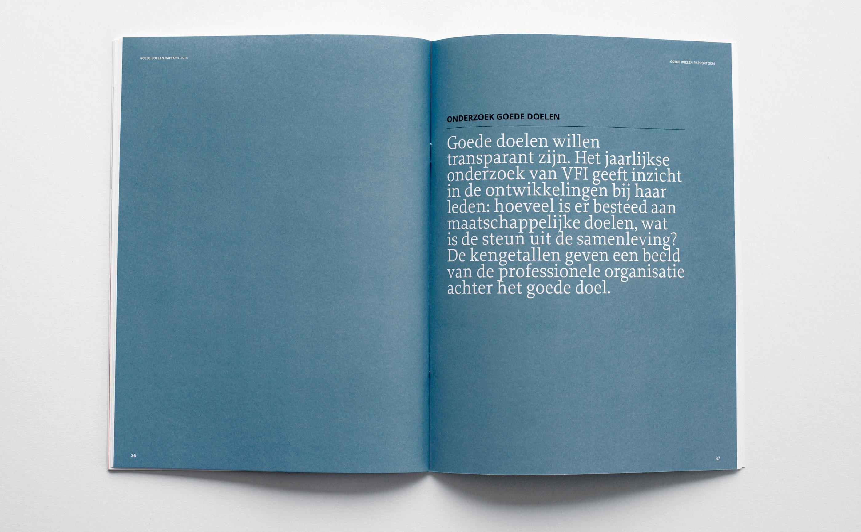 Binnenkant rapport goede doelen Nederland