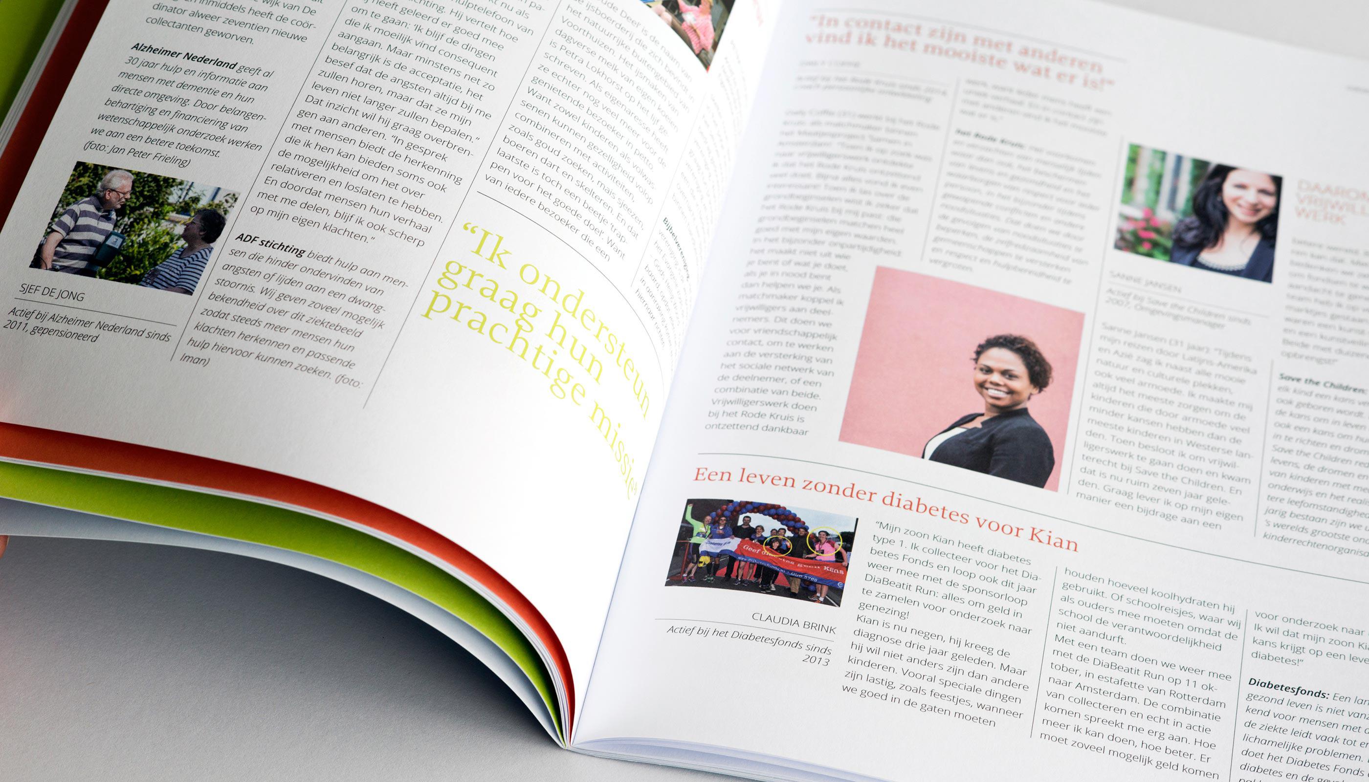 bladeren door rapport goede doelen Nederland